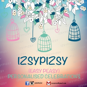 izsy pizsy personalised celebrations logo