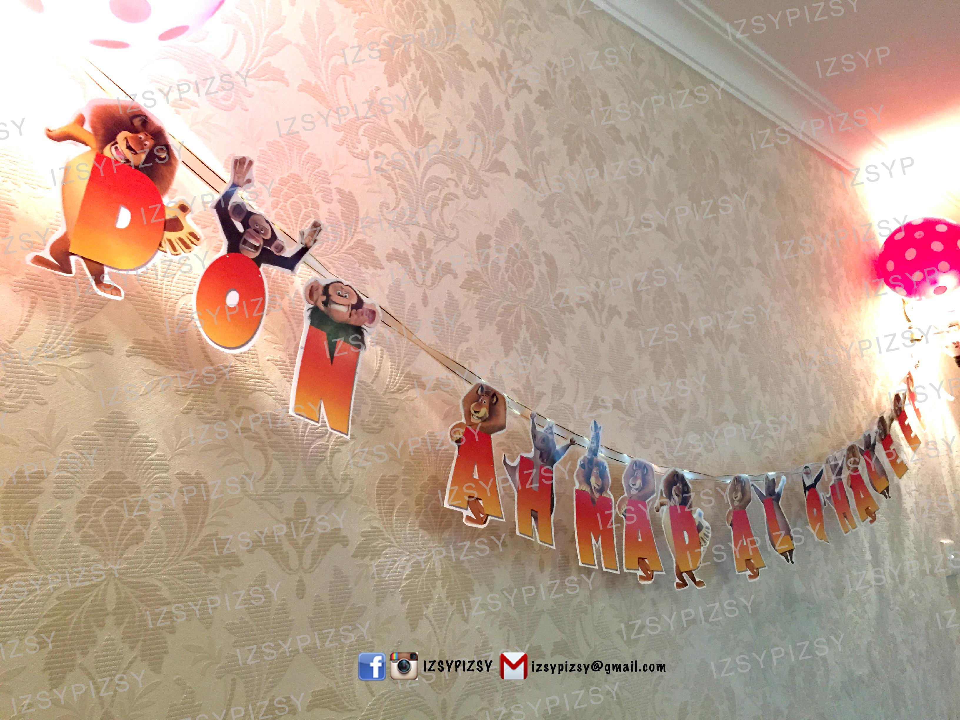 Gmail birthday theme - Bunting Flags Madagascar Birthday Malaysia