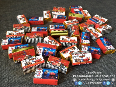 disney-cars-lightning-mcqueen-ferarri-theme-mini-chocolate-bar-kitkat-doorgift-birthday-party-wedding-engagement-kahwin-tunang-party-planner-malaysia-murah
