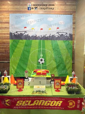 football-sports-theme-birthday-party-ideas-for-boys-malaysia-murah-rent-sewa-cheap-candy-buffet-manchester-united-liverpool-arsenal-chelsea