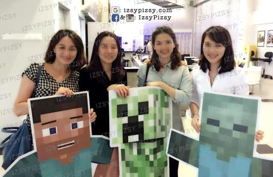minecraft-birthday-party-idea-malaysia-murah-cheap-doorgift-standee-steve-creeper-zombie
