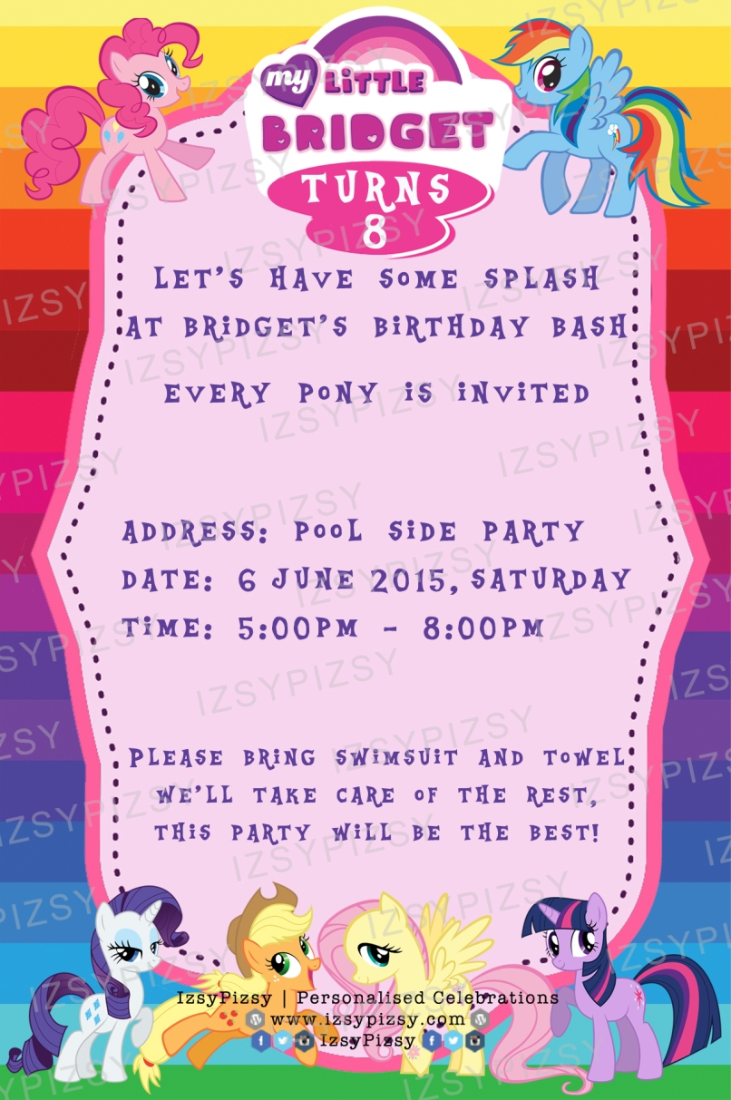 Birthday Invitation Reminder Image collections - baby shower ...