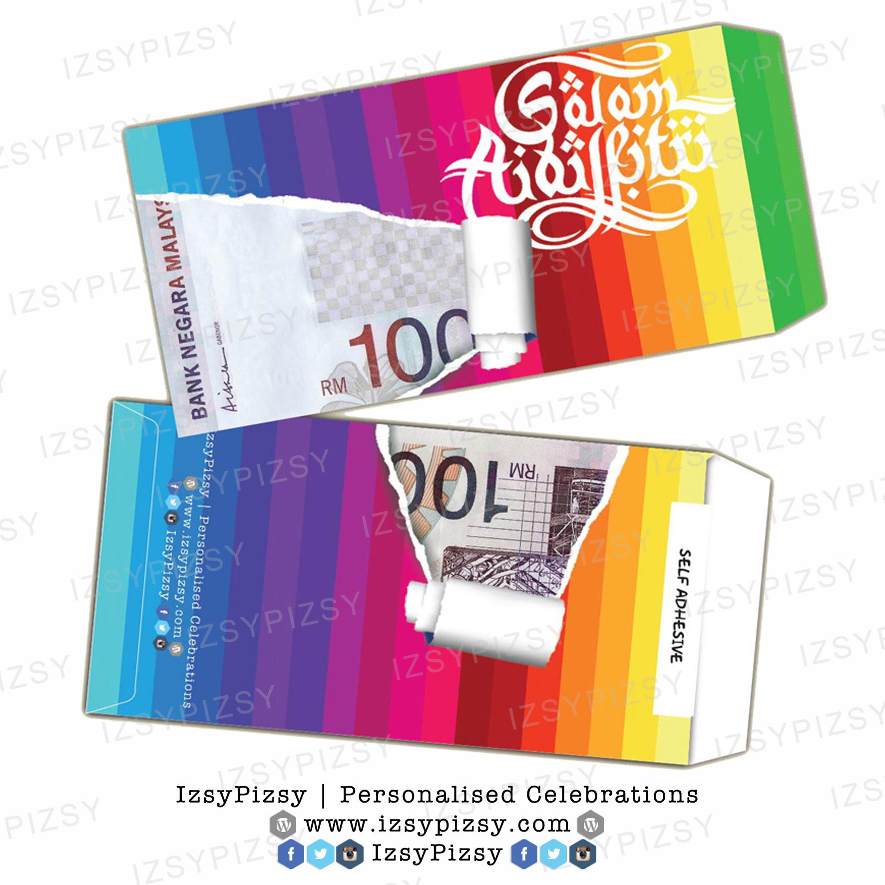 Money Packet Sampul Duit Raya