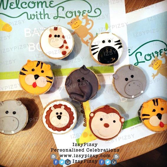 safari jungle animal theme baby shower