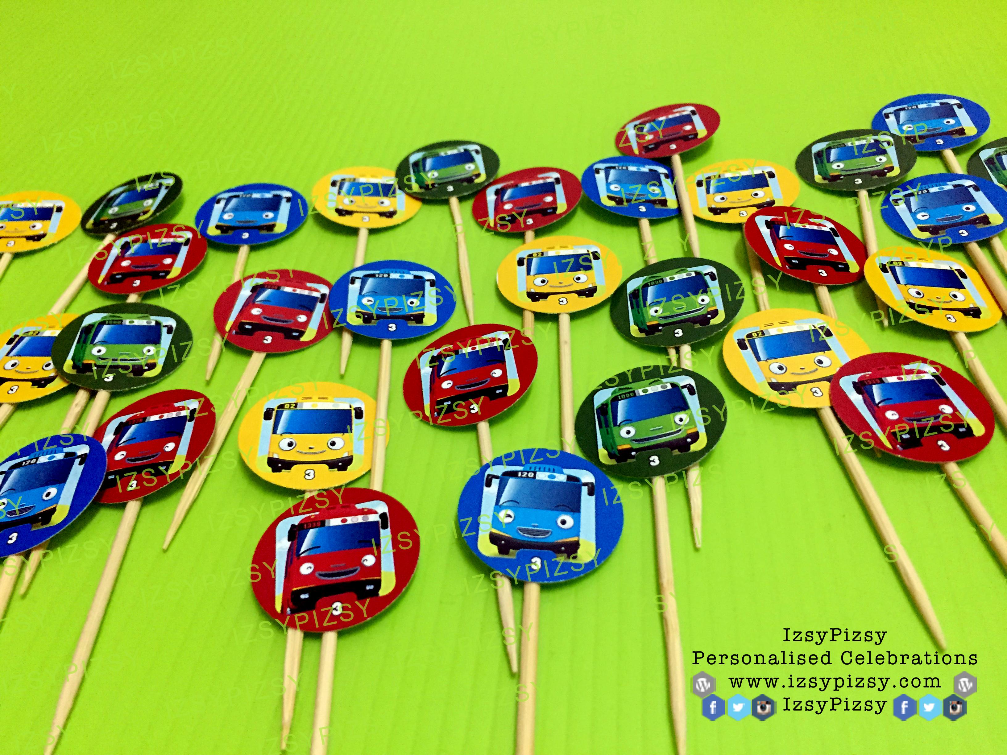 Tayo The Little Bus Themed Birthday Party Izsypizsy