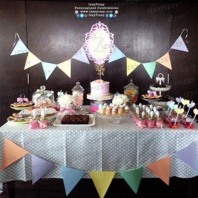 pastel theme baby shower