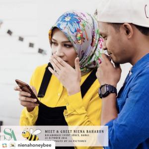 niena-baharun-honeybee-teman-pengganti-sayangku-kapten-mukhriz-raja-afiq-bumble-bee-theme-yellow-black-malaysia-party-event-planner-ashraf-jamaludin