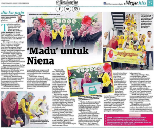 niena-baharun-meet-and-greet-event-madu-feature-newspaper-utusan-malaysia-party-event-planner-murah