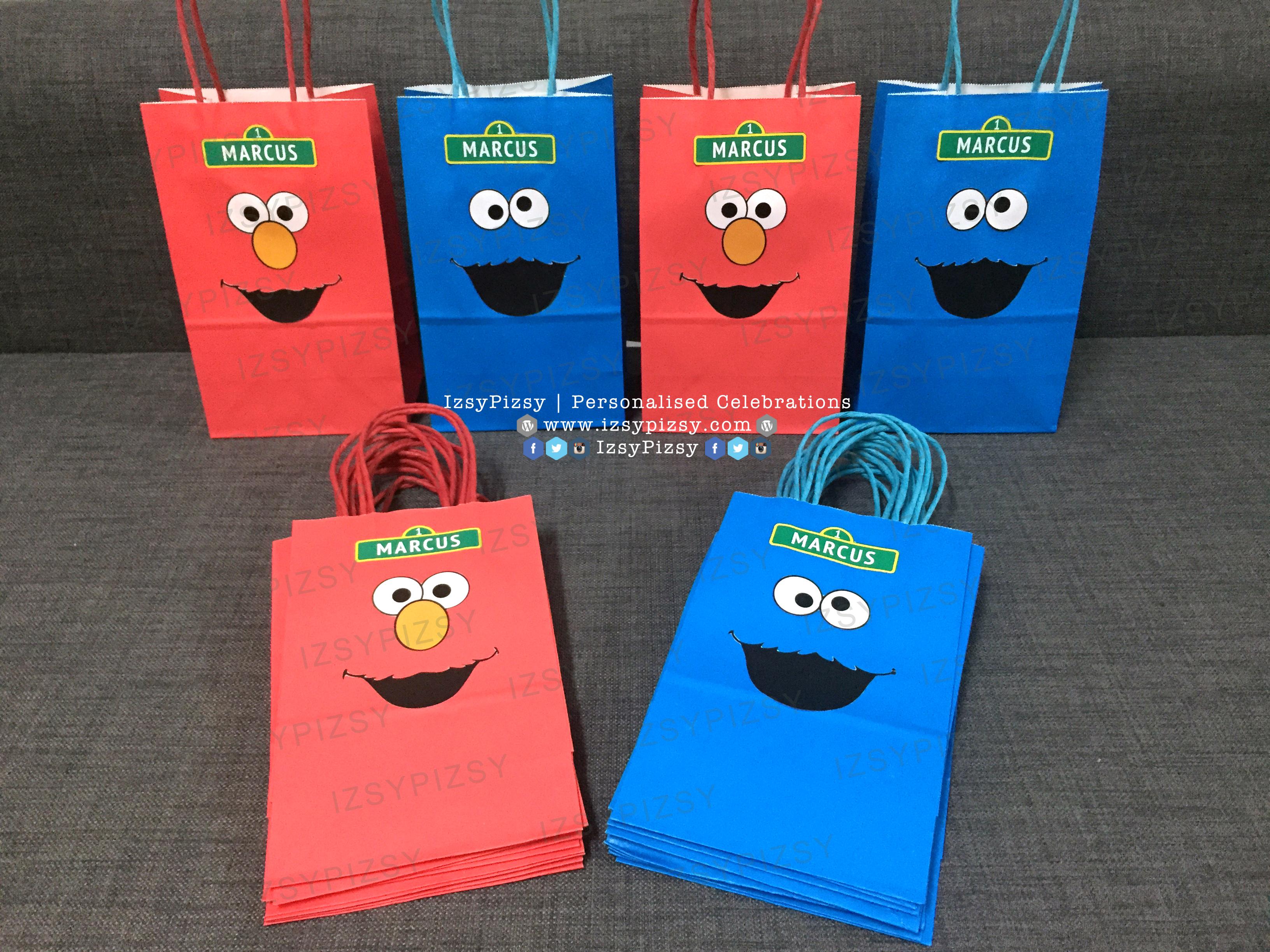 Sesame Street Themed Birthday Party (2) | IzsyPizsy