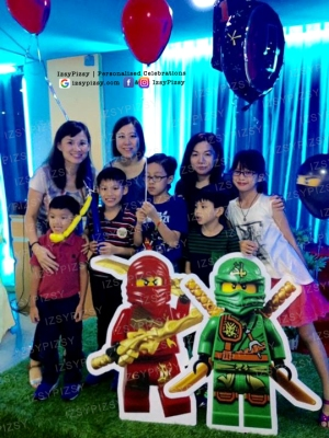 lego ninjago movie theme birthday party ideas supplies macaron dessert candy buffet malaysia standee life cut out fireworks candle props decoration rent sewa balloon